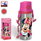 Minnie Mouse Pipetli Çelik Matara (600 Ml.) 72967