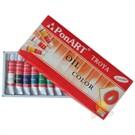 Ponart Yağlı Boya 12 Renk X 12 ml. Tüp