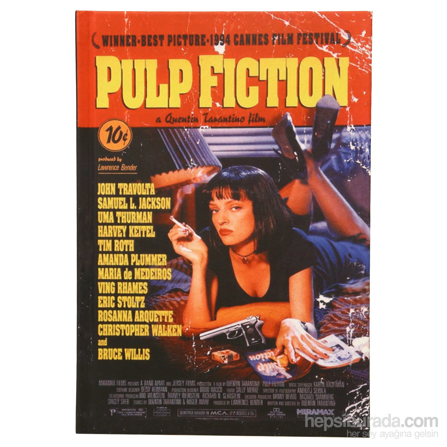Done 64905-1 Film  Afişleri / Pulp Fiction Defter