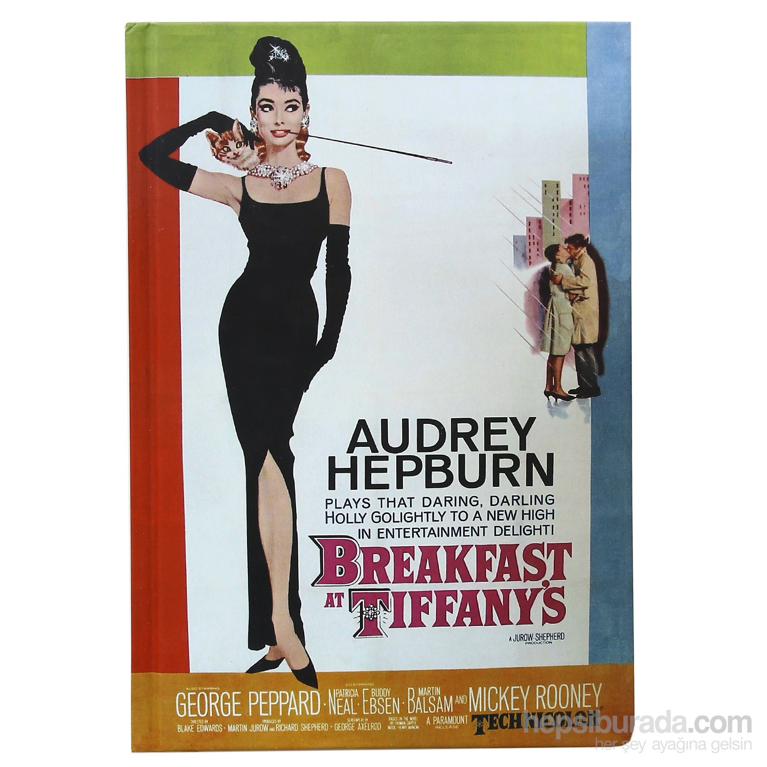 Done 64907-5 Film Afişleri /Breakfast At Tiffany's Defter