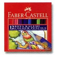 Faber-Castell 12 Renk Boya Kalemi (yarım Boy)
