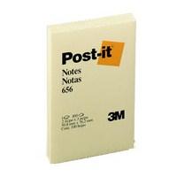 Post-it 656 Not Sarı 100 yaprak 51x76mm - HATALI