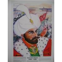 Kanuni Sultan Süleyman Poster 35*50Cm