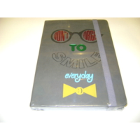 Keskin Color Notebook Suni Termo Deri Baskılı 14*20Cm 80 Yp Çizgili