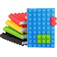 BuldumBuldum Blocks Note Pad - Lego Not Defteri - Büyük Boy - Sarı