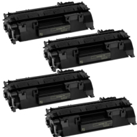 Calligraph Canon i sensys LBP6680x Toner 4 lü Ekonomik Paket Muadil Yazıcı Kartuş