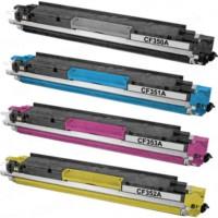Calligraph Hp LaserJet Pro MFP M176n 4 Renk Renkli Toner 4 lü Ekonomik Paket Muadil Yazıcı Kartuş