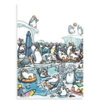BuldumBuldum Penguen Poster – Penguenler Tatilde - 135 Gr Poster