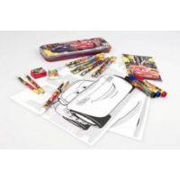 Cars Kırtasiye Seti (kalem kutu, boya seti, kalem seti, defter)