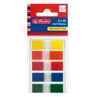 Herlitz Page Marker 5 renk ( Sayfa Ayırıcı) 947