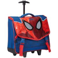 Samsonite Spiderman Çekçekli Okul Çantası 16C-41007