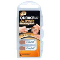 Duracell Actıvaır-312 1.45 V 6Lı İşitme Cihaz Pili
