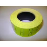 Salvo Meto Mat Etiket Fosforlu Sarı 1 Adet