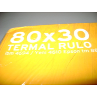 Umur Termal Rulo 80*30 10Lu Paket