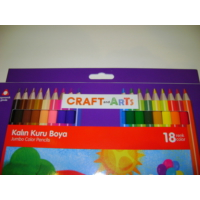 Craft And Arts Jumbo Kuru Boya 18 Renk