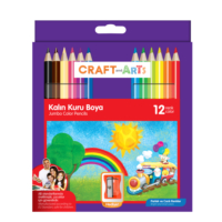 Craft And Arts Kuru Boya Jumbo 12'li Paket