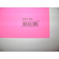 Umix Craft & Arts Fosforlu Fon Kartonu 160Gr 50*70Cm Kırmızı