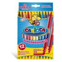 Carioca Birello Jumbo Süper Yıkanabilir Çift Uçlu Keçeli Boya Kalemi