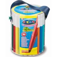 Carioca Kalın Keçeli Boya Kalemi Yıkanabilir 50'li