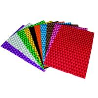 Lino Eva 20X30 10 Renk 2 Mm Simli Üçgen Desenli