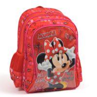 Yaygan Minnie Mouse Okul Çantası (Kırmızı - Minnie Kabartmalı)