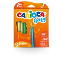Carioca Jumbo Üçgen Bebek Kuru Boya Kalemi 10'lu