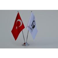 Bayrakal Türk Bayrağı ve Atatürk İmza Masa Bayrak Takımı