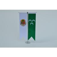Bayrakal Osmanlı Tuğrası ve 3 Hilal Bayrağı Kırlangıç Masa Bayrak Takımı