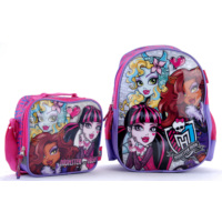 Monster High 62439 Lisanslı Okul Çantası Seti