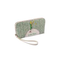 Küçük Prens Makyaj Çantası,İki Bölmeli,Özel Baskılı/ Yeşil