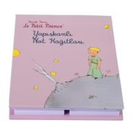 Küçük Prens Yapışkanlı Not Kağıtları (sert kapaklı, 7 farklı ebat)