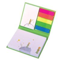 Küçük Prens Renkli Ayraçlı Yapışkanlı Not Kağıtları (sert kapaklı)