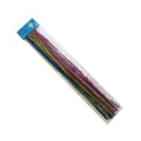 Craftzone Şönil 50Cm 25 Adet 7 Farklı Renkte 6Mm Çap (Simli) Cz-Snl50s