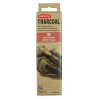Derwent Xl Willow Charcoal 10'Lu Set (2 Ad.16-24Mm;4 Ad.Orta;4 Ad.2-3Mm) Dw2302034