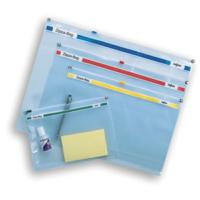 Snopake Zıppa Bag A4 Plus Fermuarlı Dosya(355X235mm)Karışık Renkler Sp11463