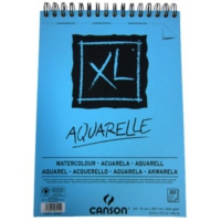 Canson Can Xl Watercolor 300Gr. A4 30Yp Spiralli Blok C400039170