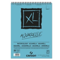 Canson Can Xl Watercolor 300Gr. A3 30Yp Spiralli Blok C400039171