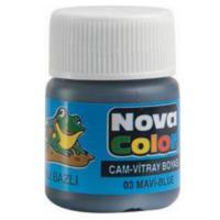 Nova Cam Boyası Mavi Su Bazlı Nc-151