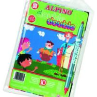Alpıno 10 Renk Çift Yönlü Keçeli Kalem Ar-13