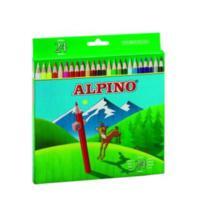 Alpıno 24 Renk 1/1 Kuru Boya Kalemi Al-658-6589