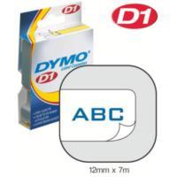 Dymo 12Mmx7M Şerit Mavi/Beyaz (D-45014)
