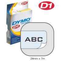 Dymo 24Mmx7 M Şerit Şeffaf/Siyah (D-53710)