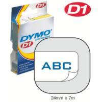 Dymo 24Mmx7 M Şerit Beyaz/Mavi (D-53714)