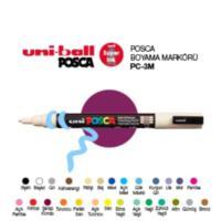 Uni-Ball Pc-3M Posca Su Bazlı Marker Kırmızı 0.9
