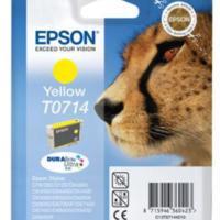 Epson T0714 Yellow Renkli Kartuş