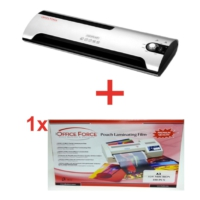 Office Force P-98 A3 Laminasyon Makinesi + A3/125 Mikron 100 Adet