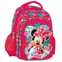 Minnie Mouse Kabartmalı 3 Bölmeli Okul Çantası 73153