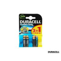 Duracell Turbo Aaa 3+1 İnce Pil 4Lü