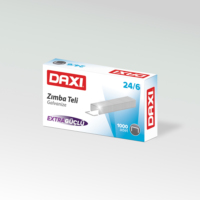 Daxi No:24/6 Zımba Teli - Gümüş ( 10'lu Paket )