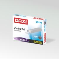 Daxi No:23/10 Zımba Teli - Gümüş ( 10'lu Paket )